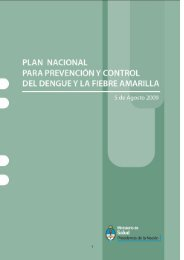 Plan Nacional de Prevención y Control del Dengue - Femeba Salud