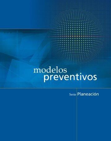 Modelos Preventivos - Comisión Nacional contra las Adicciones