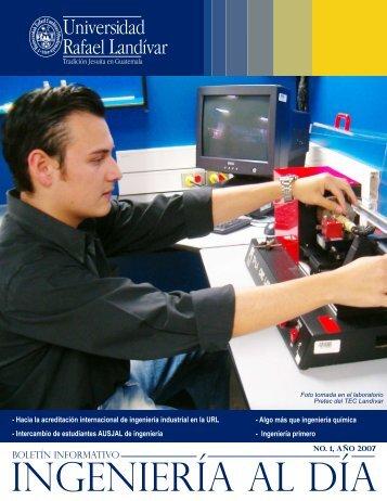 No. 1 - MAY 2007 - Tecnologico Landivar - Universidad Rafael ...
