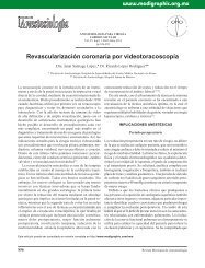 Revascularización coronaria por videotoracoscopía - edigraphic.com