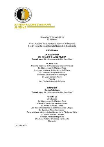 dr. ignacio chavez rivera