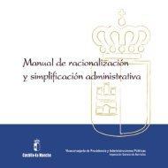 Manual de racionalización y simplificación administrativa - Cámaras