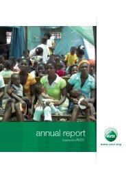 annual report - Avsi