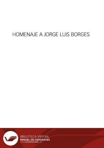 de Jorge Luis Borges - Biblioteca Virtual Miguel de Cervantes