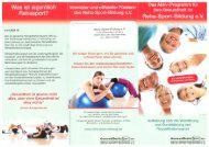 Download Flyer - Physioteam Kern