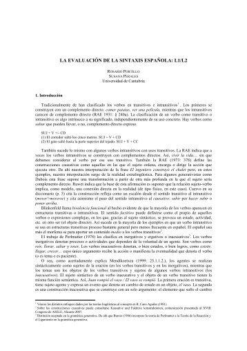 l1/l2 - Centro Virtual Cervantes