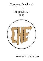 Congreso Nacional de Espiritismo 1981 - Luz Espiritual
