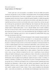 Texto integral da conferência (pdf) - Apresentação