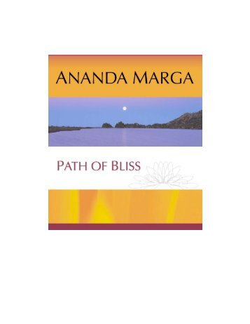 AM Path Of Bliss - Ananda Marga