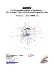 Newsletter WDV 2007 - Version 07-00-01-33 - Praxis EDV