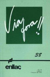n.º 38 - primavera 93 - Ens de Comunicació Associativa
