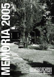 memoria 2005 - Referentes web - Universidad de Chile