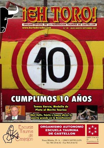 CUMPLIMOS 10 AÑOS - Burladerodos