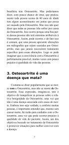 Osteoartrite - Sociedade Brasileira de Reumatologia - Page 7