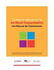 Um Manual de Treinamento - TB CARE I