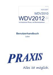 Asphalt-Labor - Praxis EDV