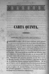 Carta quinta - Bicentenario