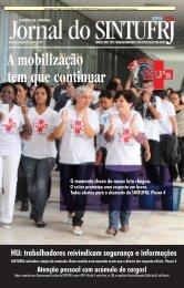 HU: trabalhadores reivindicam segurança e informações - Sintufrj