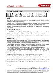 ADLER Positiv Plus 12801ff - ADLER - Lacke