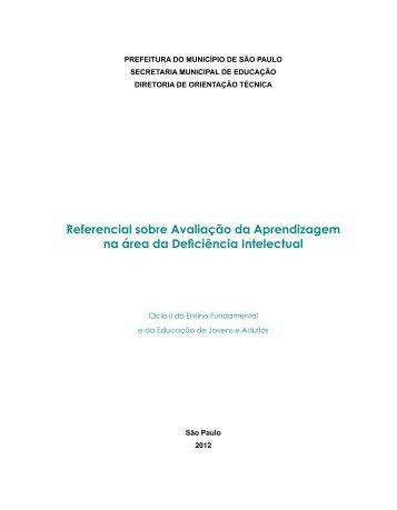 RAADI Ciclo II - Secretaria Municipal de Educação
