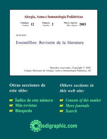 Eosinófilos: Revisión de la literatura - edigraphic.com