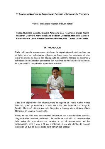 Pablo - supervisión escolar nº 18