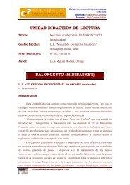 EL BALONCESTO (minibasket) - José Quintanal Díaz