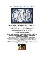 Muestra de Mail Art / Tema: La Odisea del Estrecho - Boek 861