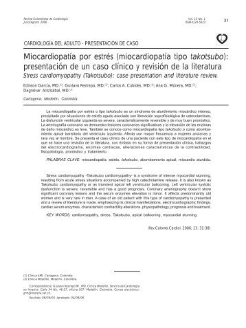 experiencia en implante - SciELO Colombia