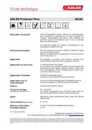ADLER Protector Plus 96345 - ADLER - Lacke