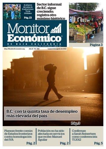 BC con la quinta tasa de desempleo más elevada del país - Monitor ...
