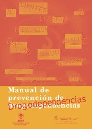Drogodependencias - Exploradores de Madrid