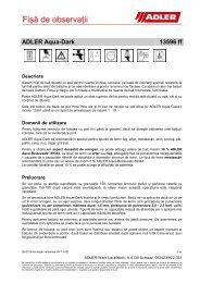 Pullex-Imprägniergrund 50208 ff - ADLER - Lacke