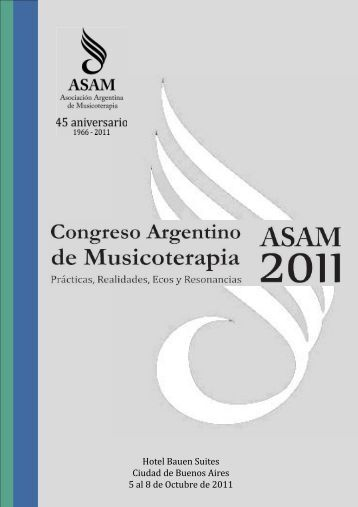 Actas del Congreso - Asociación Argentina de Musicoterapia