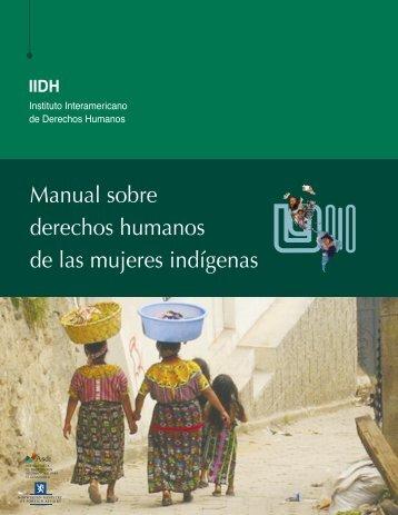 Manual sobre derechos humanos de las mujeres indígenas