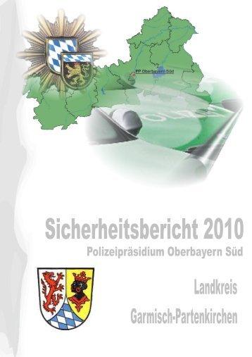 Landkreis Garmisch-Partenkirchen - Polizei Bayern