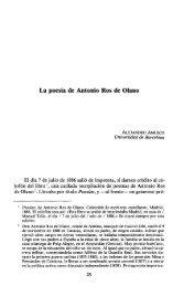 La poesía de Antonio Ros de Olano - RUA