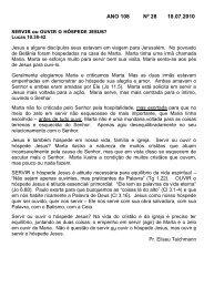 ANO 108 Nº 28 18.07.2010 - Comunidade Evangélica Luterana ...