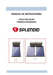 MANUAL TERMO SOLAR 120-150-300L -2012.pdf - SPLENDID