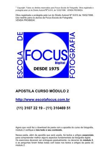 APOSTILA MODULO- 2- DEZEMBRO 2011 - Focus Foto