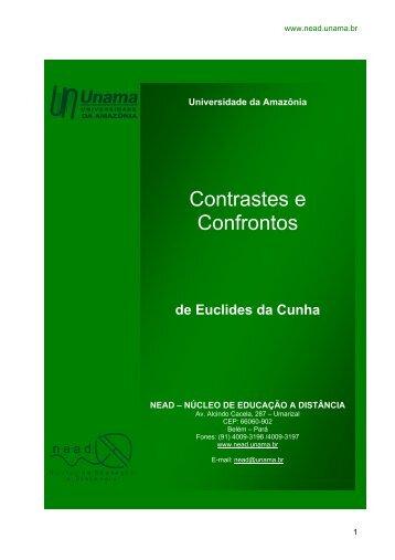 Contrastes e Confrontos - Unama