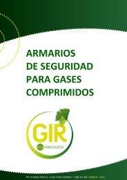 ARMARIOS DE SEGURIDAD PARA GASES COMPRIMIDOS