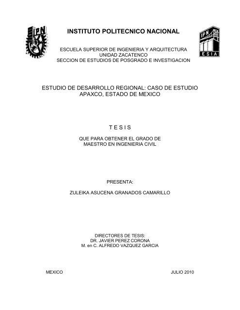 Instituto Politecnico Nacional Repositorio Digital
