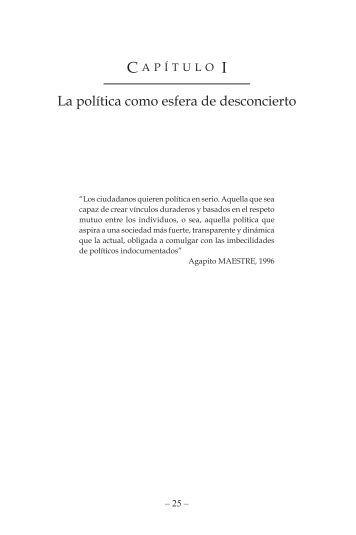 La política como esfera de desconcierto - Saber ULA
