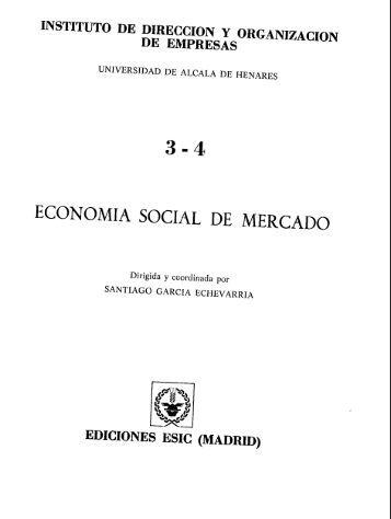 ECONOMIA SOCIAL DE MERCADO - Universidad de Alcalá