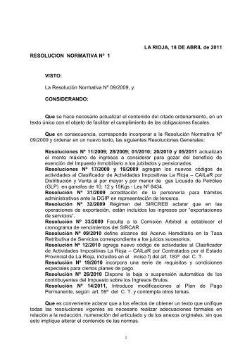 TÍTULO I - DGIP | Direccion General de Ingresos Provinciales
