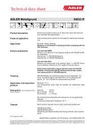 ADLER Metallgrund 54033 ff