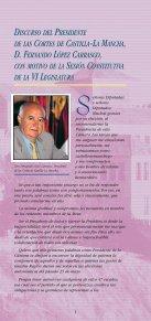2003-2007 Sexta Legislatura - Cortes de Castilla-La Mancha - Page 3