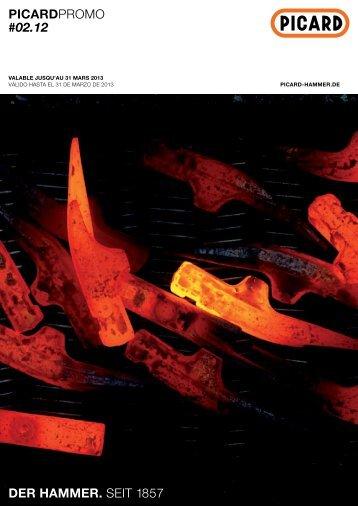 picardPromo #02.12 der hammer. seit 1857