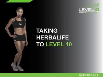 Herbalife_Level_10_Launch_Presentation